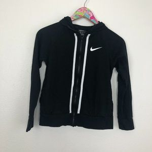 Girls Nike zip up size L